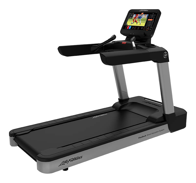Integrity Treadmill Deluxe Base ST Console - Arctic Silver