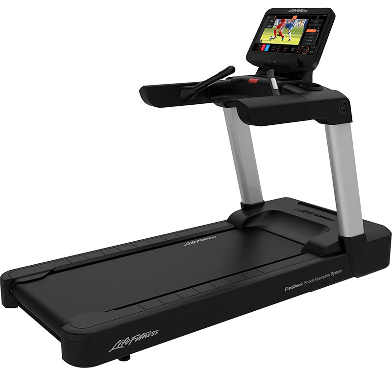 Integrity Treadmill Simple Base ST Console - Arctic Silver