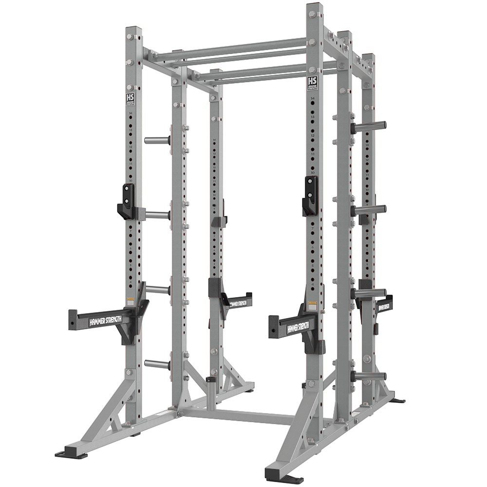 HAMMER STRENGTH HD ATHLETIC COMBO HALF RACK