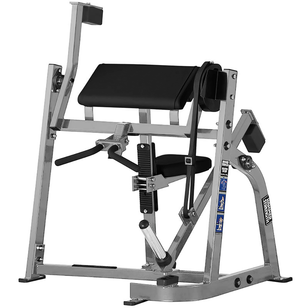HAMMER STRENGTH PLATE LOADED SEATED BICEPS