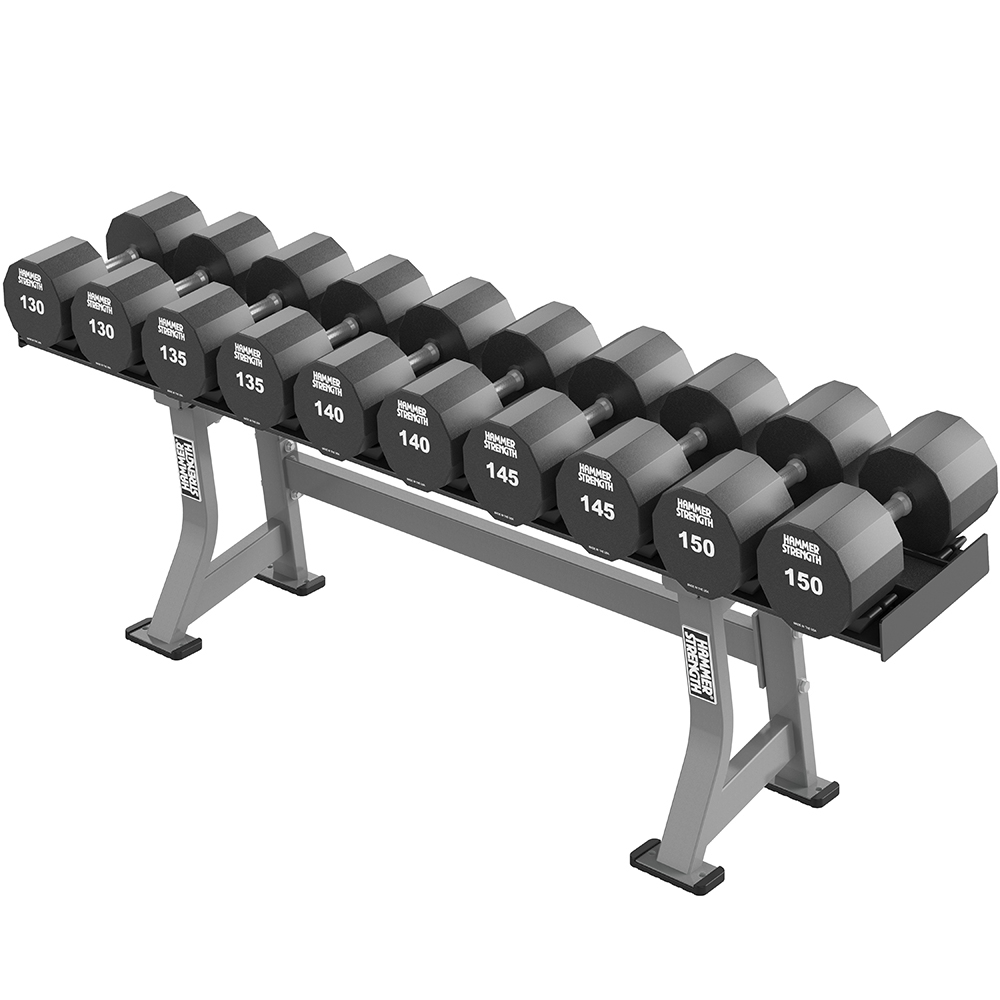 HAMMER STRENGTH SINGLE TIER XL DUMBBELL RACK