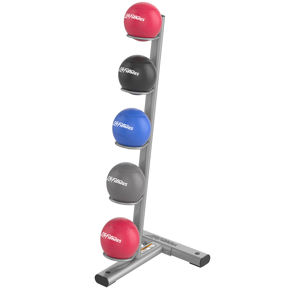 OPTIMA MEDICINE BALL RACK