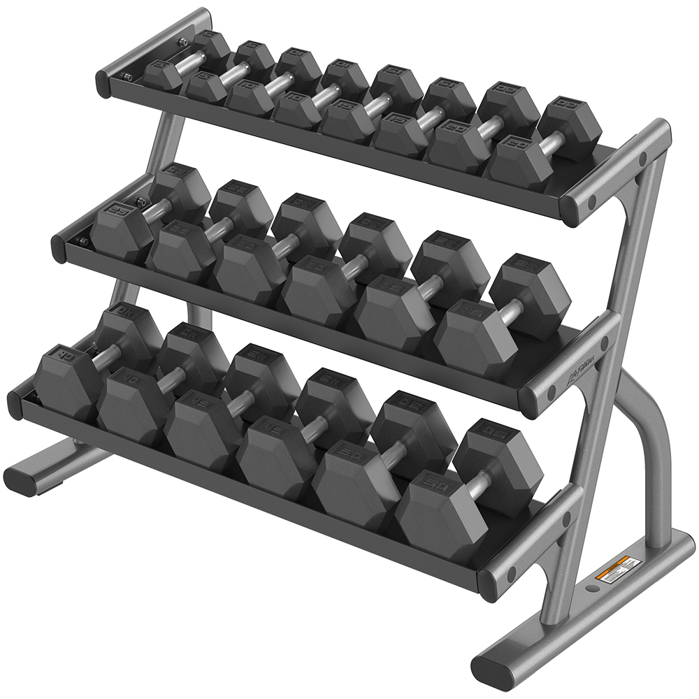 Axiom_3_tier_hex_dumbbell_rack_plat